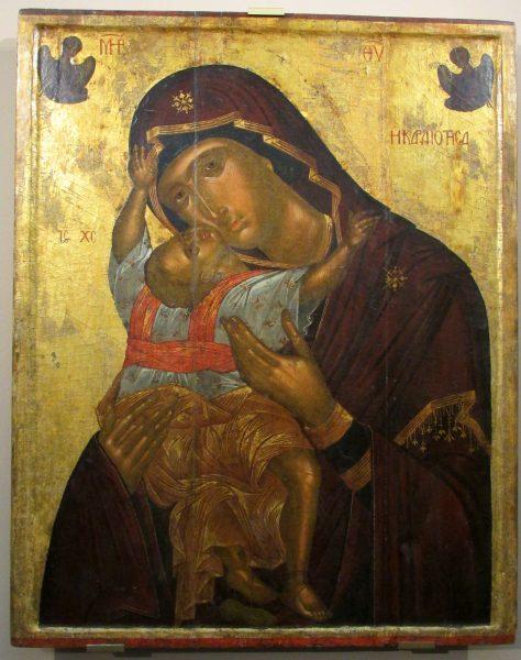 Богородица Кардиотисса, XV век