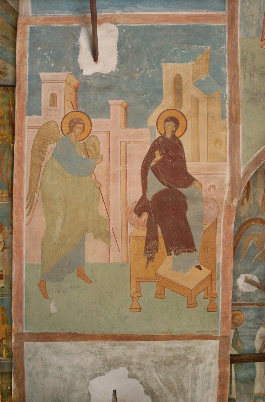 Благовещение, мастер Дионисий, конец 15 века