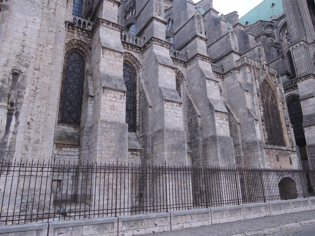 Шартрский собор, южная сторона