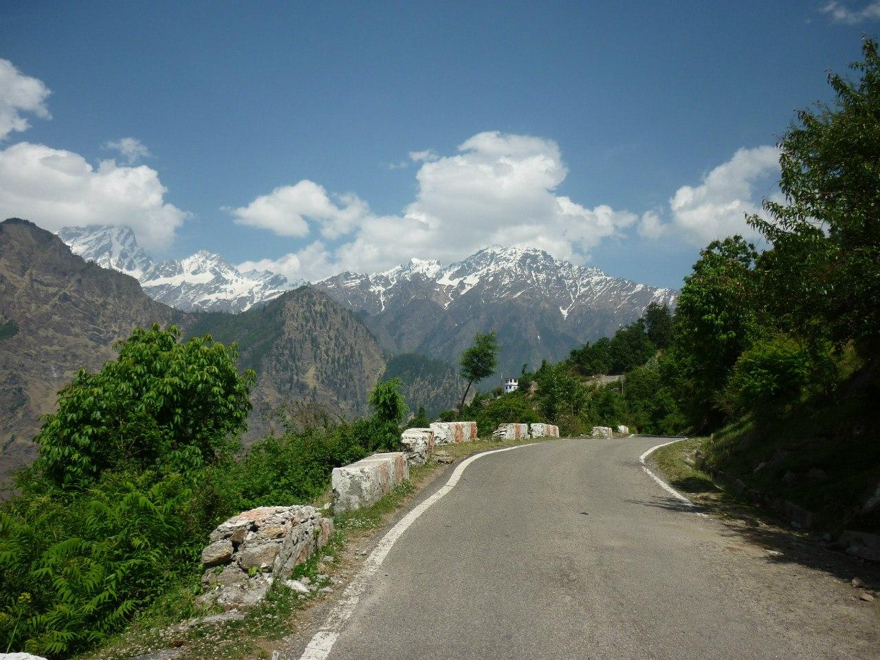 Гималаи. Уттаркханд. Джошиматх