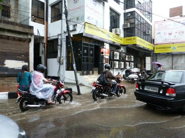 Индия. Сезон дождей