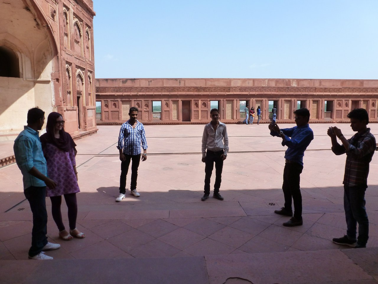 Индия. Агра-форт