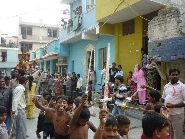 Индия. Дели. Детский праздник