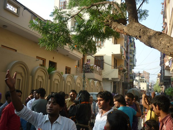 Индия. Дели. Религиозный праздник