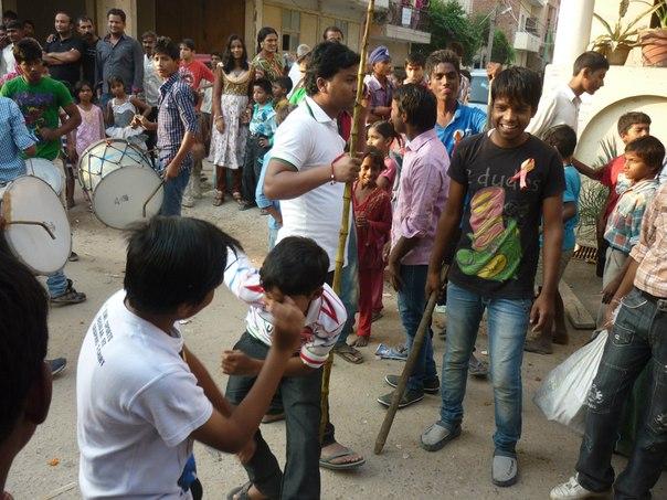 Индия. Дели. Танцы