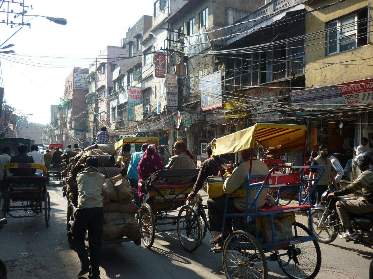 Индия. Старый Дели
