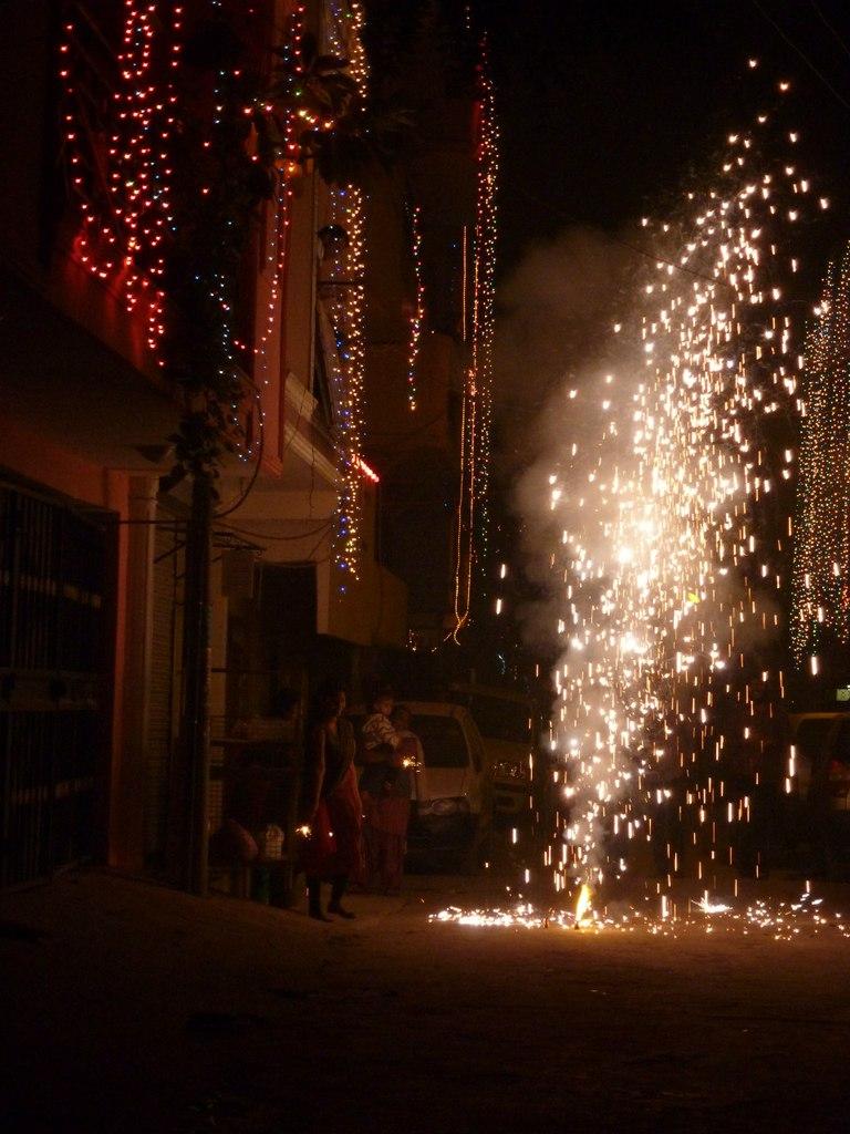 Индия. Дели. Праздник