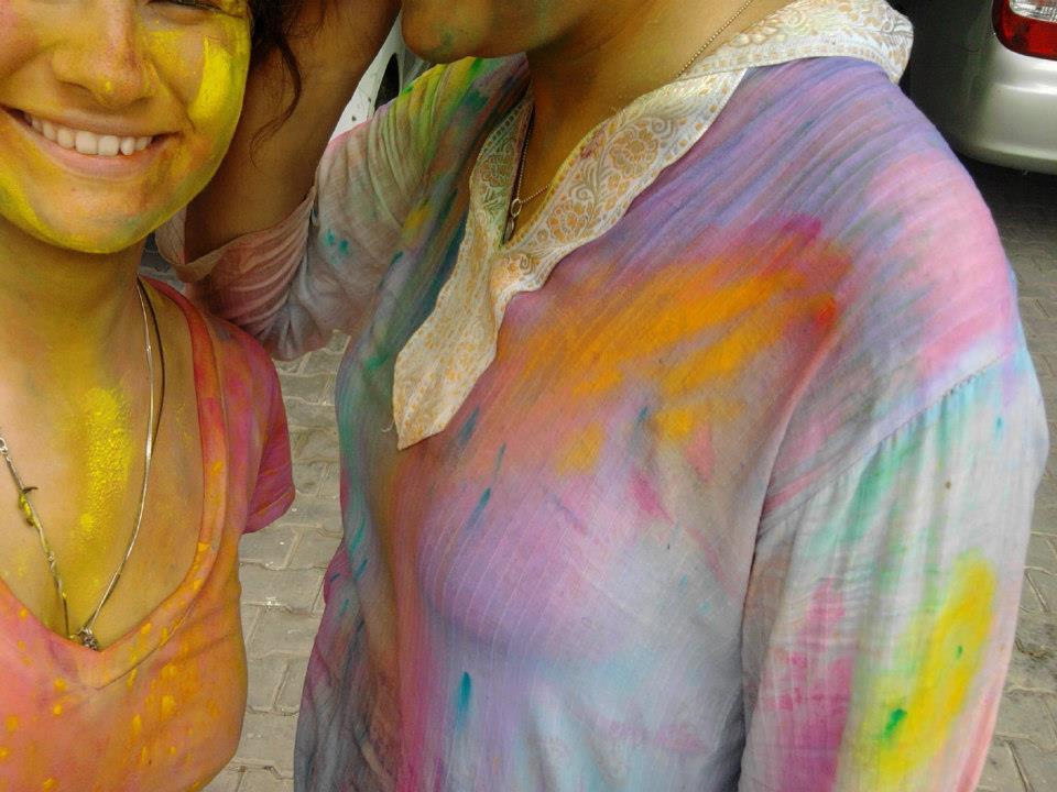 Индия. Дели. Фестиваль красок