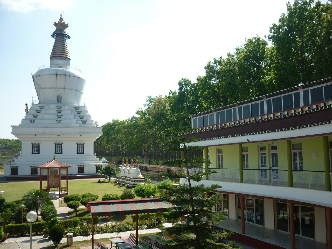 Индия. Дехрадун. Тибетский монастырь