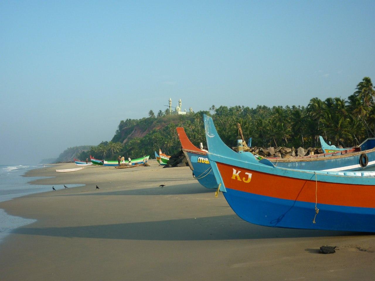 Индия. Керала. Рыбацкая деревня