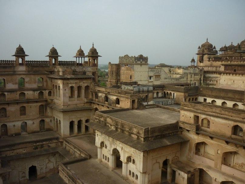 Индия. Орчха. Дворец