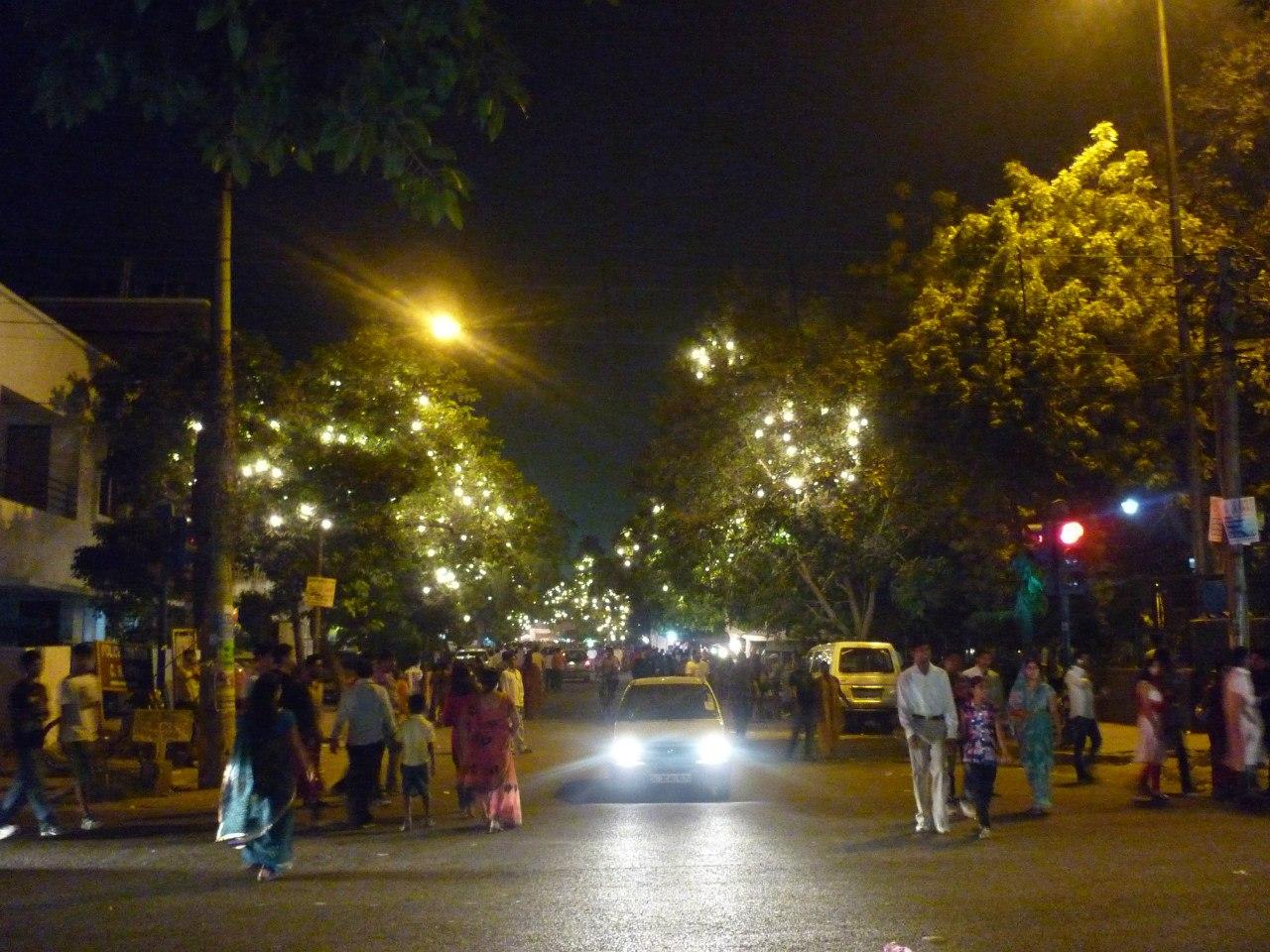 Индия. Дели. Бенгальский квартал