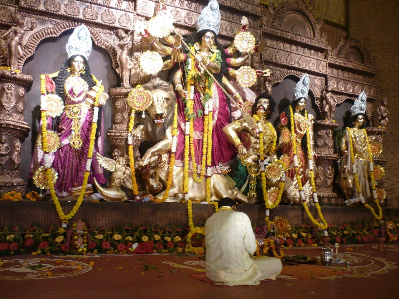 Индия. Дели. Богиня