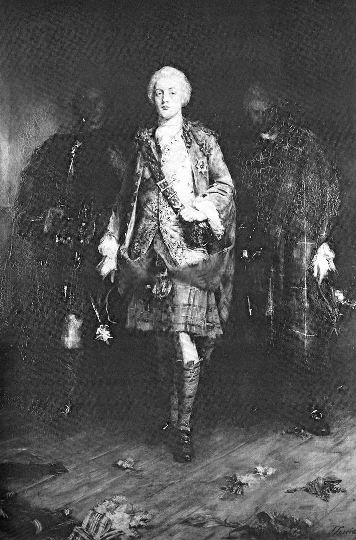 Картина Джона Питти (John Pettie) «Принц Чарльз Эдвард Стюарт во дворце Холируд»