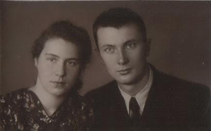 Делли Александровна и Игорь Иванович Рокитянские 1953 г.