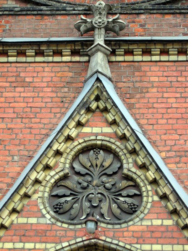 Костел св. Франциска в Риге, 1889-1892, арх. Флориан фон Вигановский, Латвия