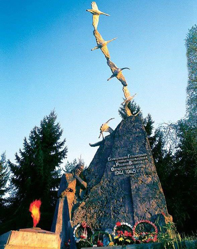 Монумент павшим воинам в Осетии