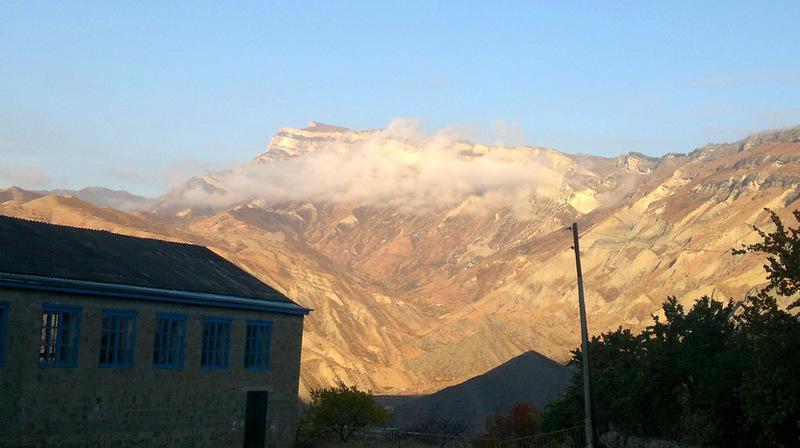 Школа в горах