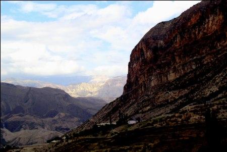 Кавказ в фотографиях (Авария). Омарова Амина.<br />&quot;Там, где горы касаются неба...&quot;