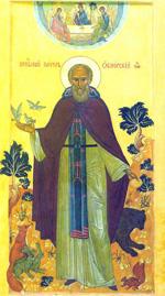 Преподобный Павел Обнорский или Комельский