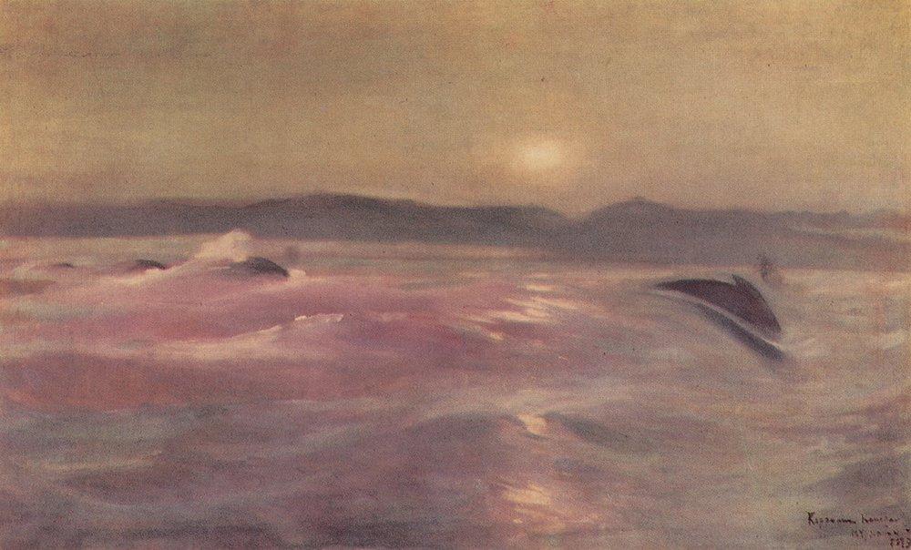 К. Коровин. Ледовитый океан. Мурманск.