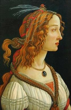Сандро Боттичелли, Портрет молодой женщины