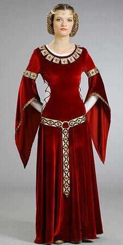 Средневековое платье. Историческая реконструкция.