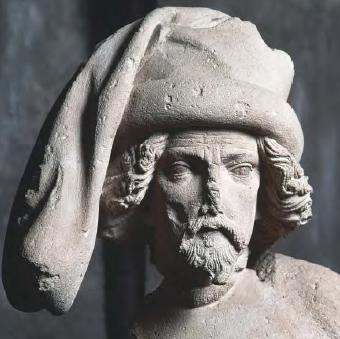 Мужской головной убор 15-го века