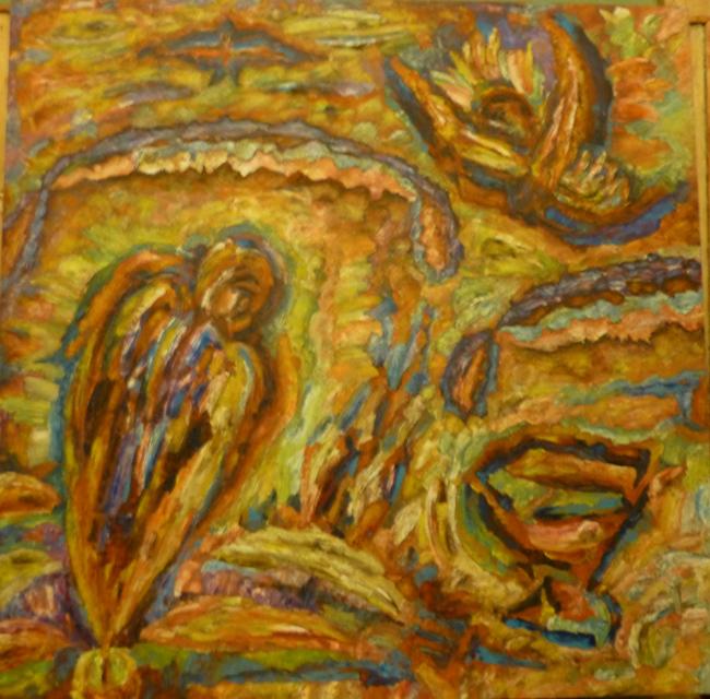 Леонид Рассадин, живопись, Ангелы