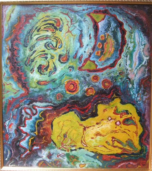 Леонид Рассадин, живопись, Сновидение