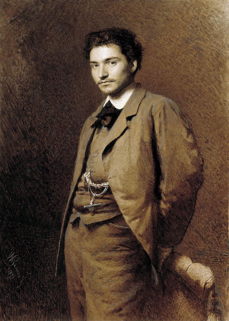 Крамской. Портрет художника Ф.А. Васильева