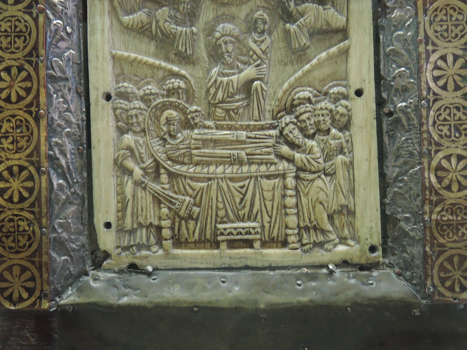 Евангелие, деталь