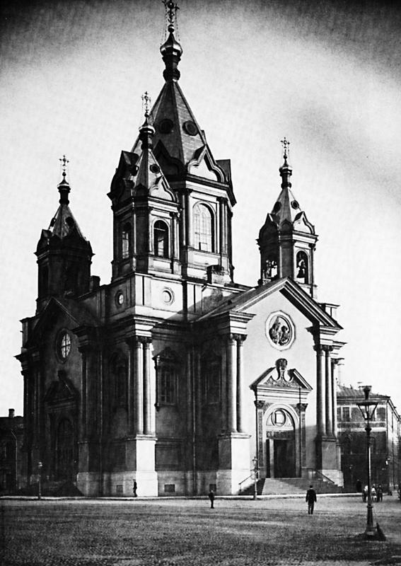 Благовещенская церковь при Конногвардейских казармах в Петербурге