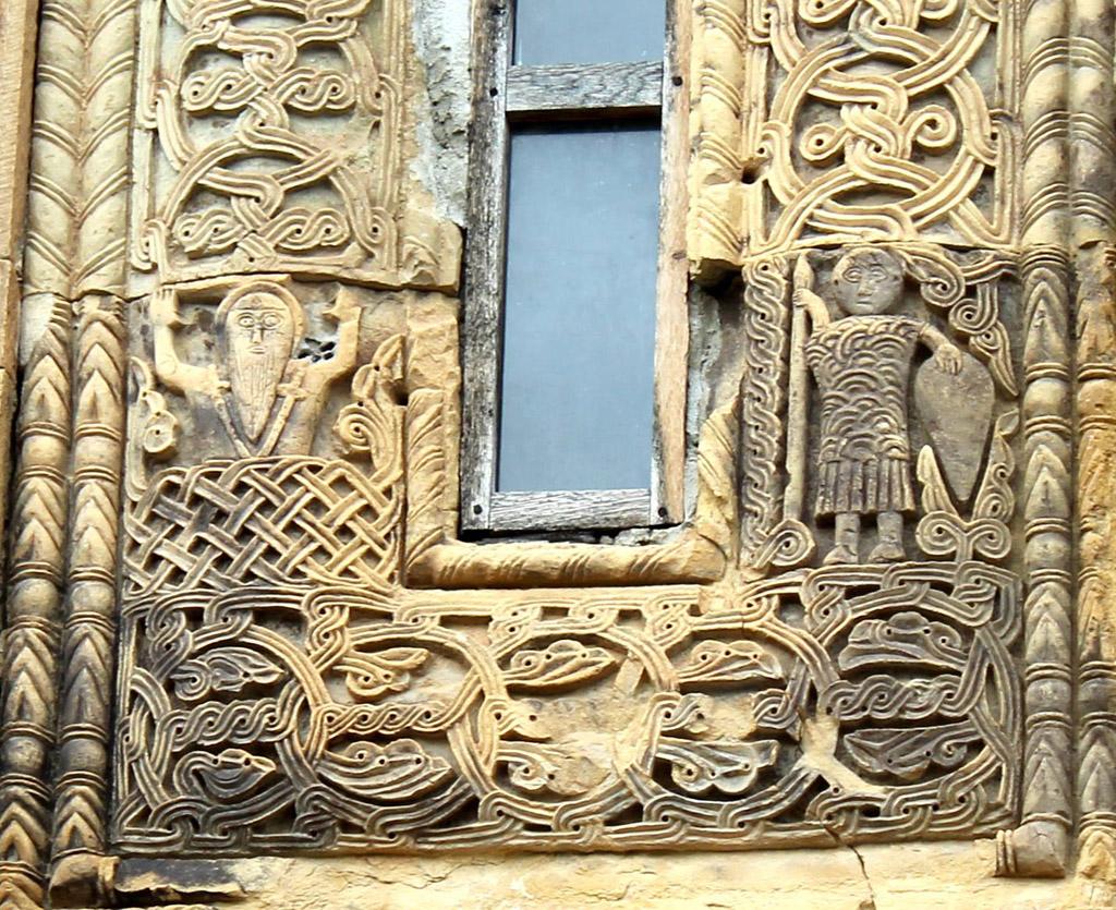 Фрагмент фасада храма, Грузия, 13 век