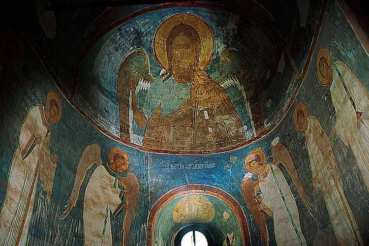 «Пресущественный мрак» на фресках Дионисия в соборе Рождества Богородицы