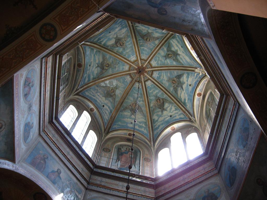 в куполе храма Всех Святых в Риге. Латвия, конец 19 века