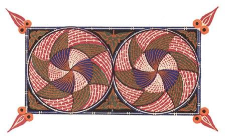 Мотив кипучей небесной круговерти – византийский орнамент
