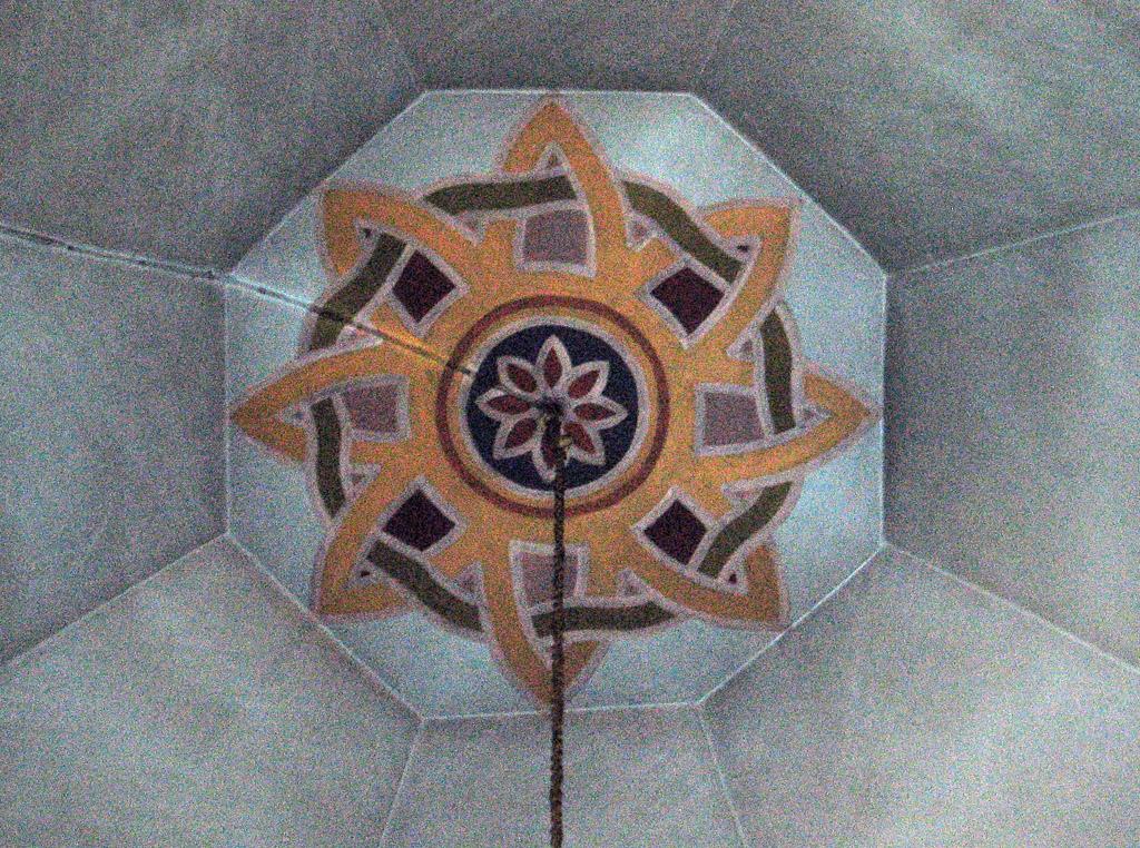 Знак небесной круговерти в куполе собора