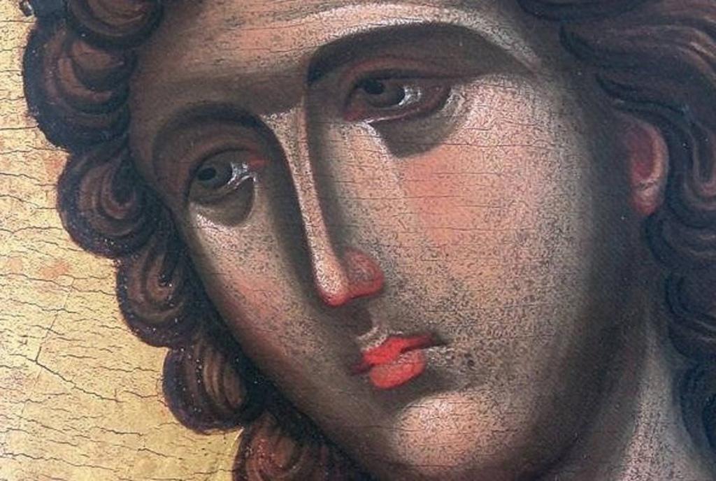 «Скрытая благость» ангельского лика. Русская икона