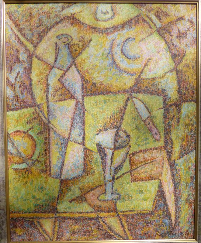живопись Леонида Рассадина, Кубический натюрморт
