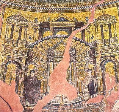 ротонда Св Георгия в Салониках, фрагмент купола