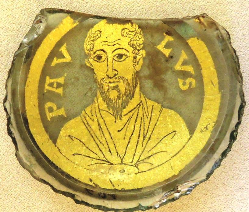 Позолоченные стекла, Апостол Павел