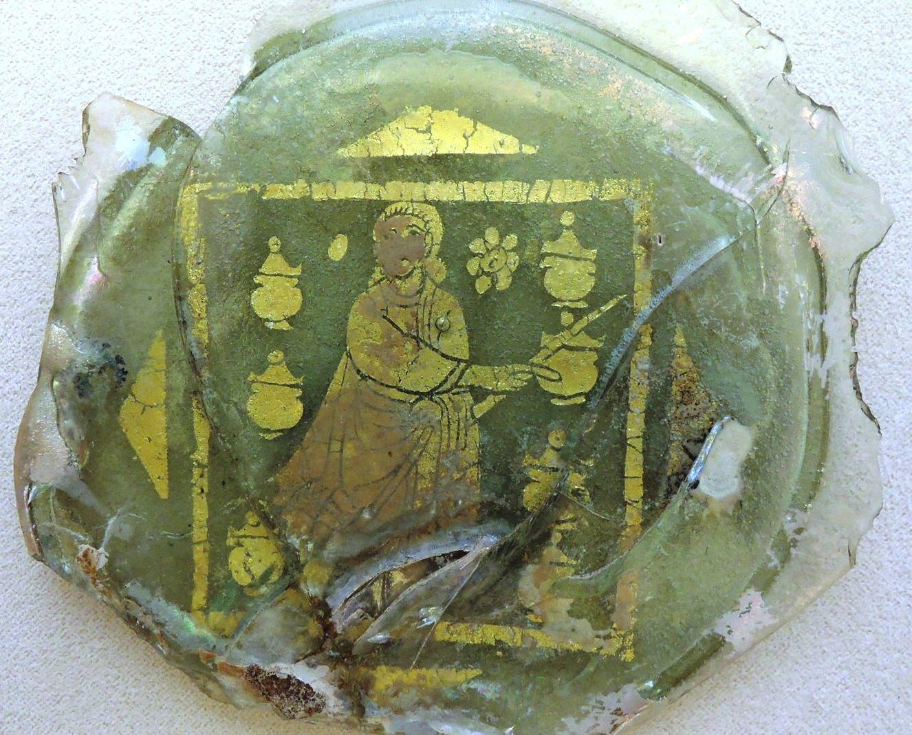 Позолоченные стекла, чудо в Кане Галилейской