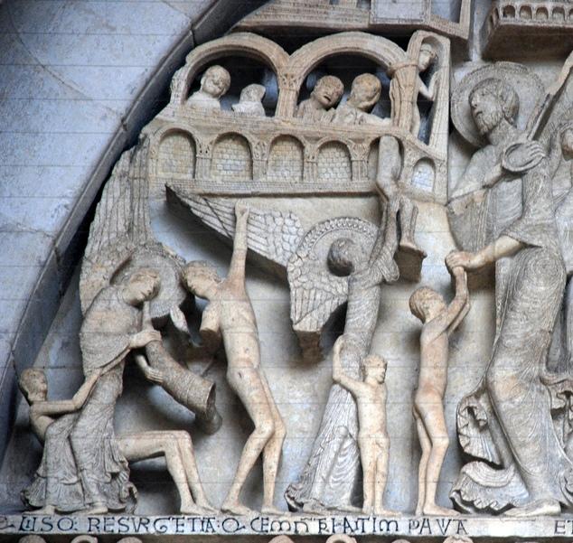 тимпан Отэнского собора