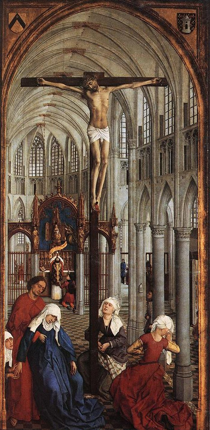 Центральная панель, триптих Рогира Ван дер Вейдена «Семь таинств»