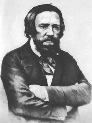 литография с фото художника Александра Иванова 1846 г