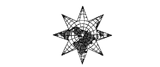 Логика всеединства. Составные звездчатые проекции