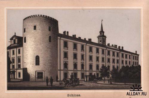 Общий вид Рижского замка с домовой Свято-Успенской церковью