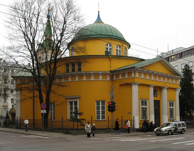 Александро-Невская церковь в Риге