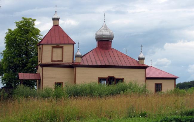 Церковь св. Петра и Павла в Данишевке